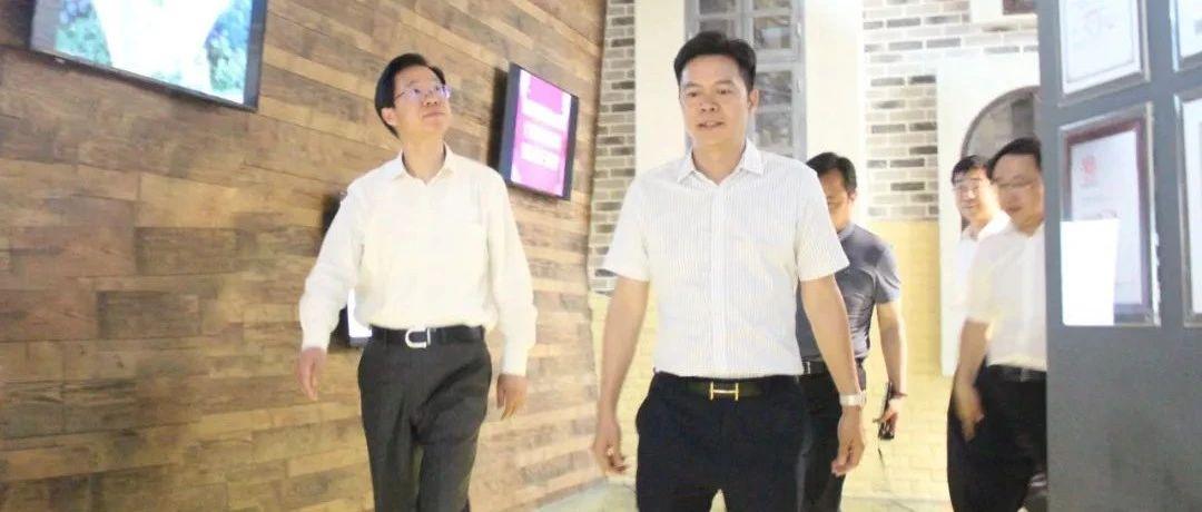 徐州市长庄兆林一行莅临广东koko体育下载 集团调研指导工作